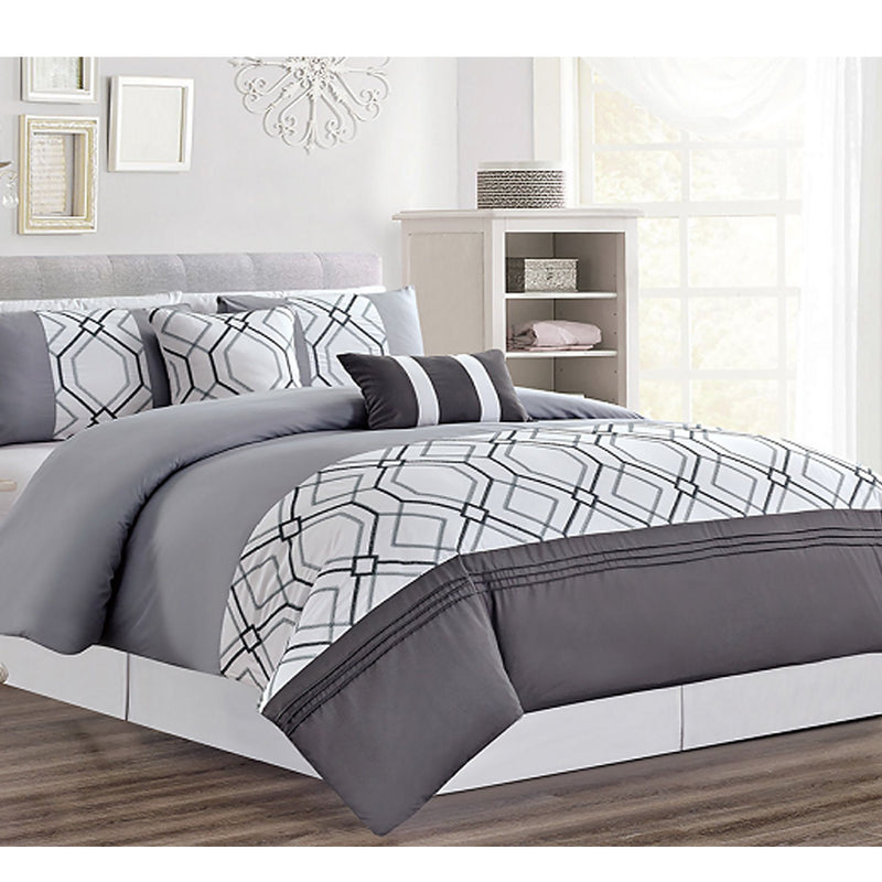 BARCLAY - Luxury 5 Piece Duvet Cover Set - Magasins Hart | Hart Stores