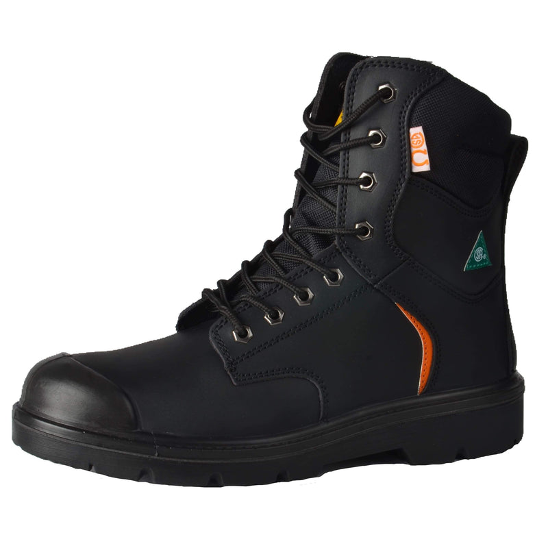 Tuff & Durable® - High Work Boots with Steel Toe & Plate | Black - Magasins Hart | Hart Stores