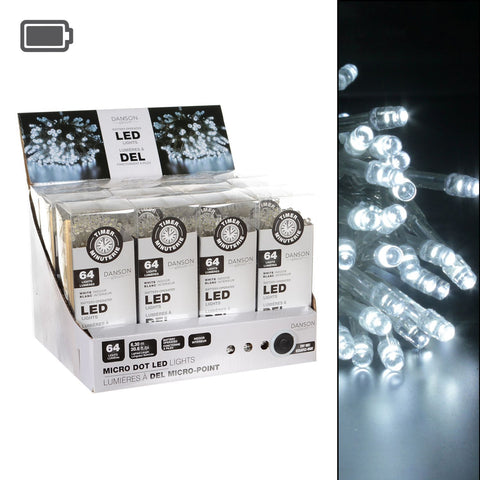64 B/O Led Lights, 8 Functions