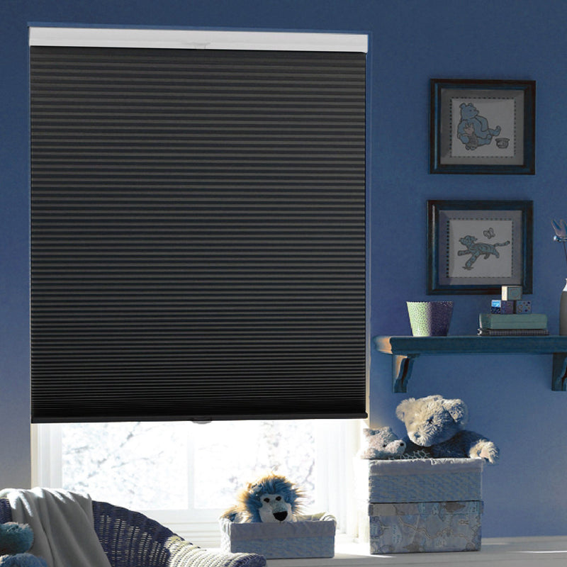 Pleated Cellular Blackout Cordless Blind - Black - Magasins Hart | Hart Stores