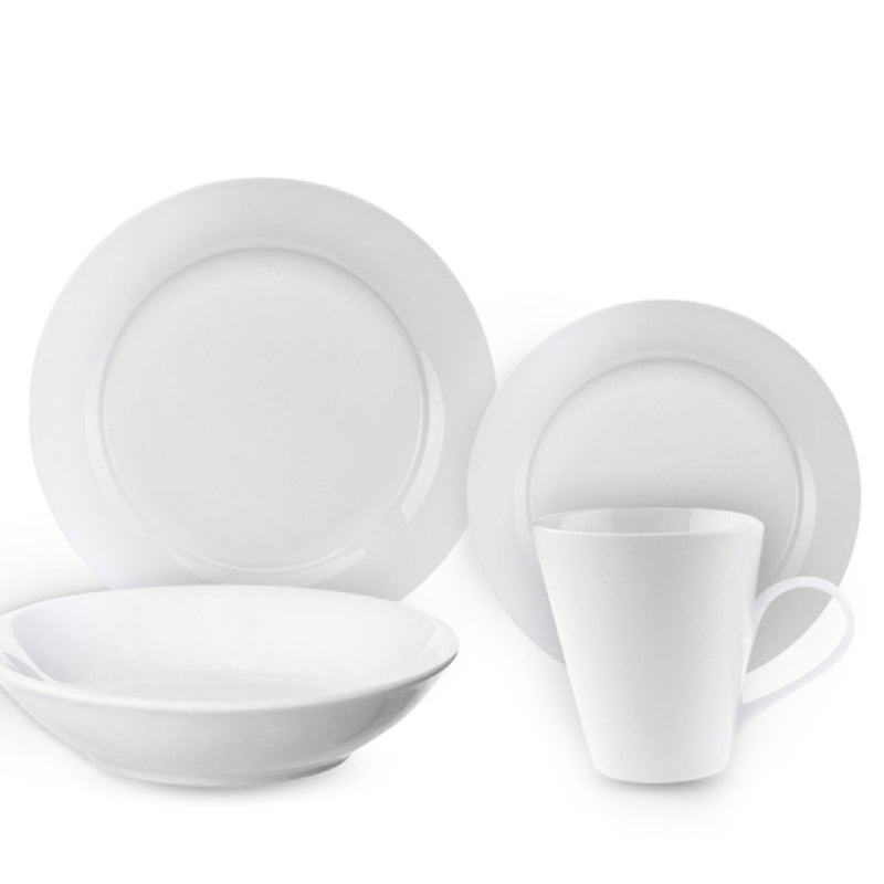 Porcelain 16 Piece Basic Dinnerware Set - Magasins Hart | Hart Stores