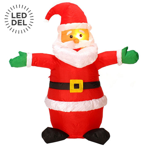 "47"" Pere Noel Debout Gonflable 