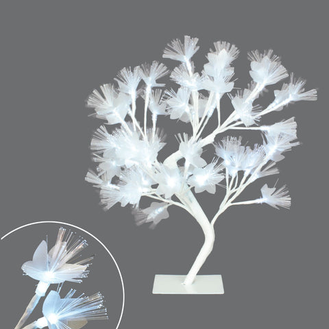 "20"" Led Fibre Optic Blossom Tree , 48Lt"