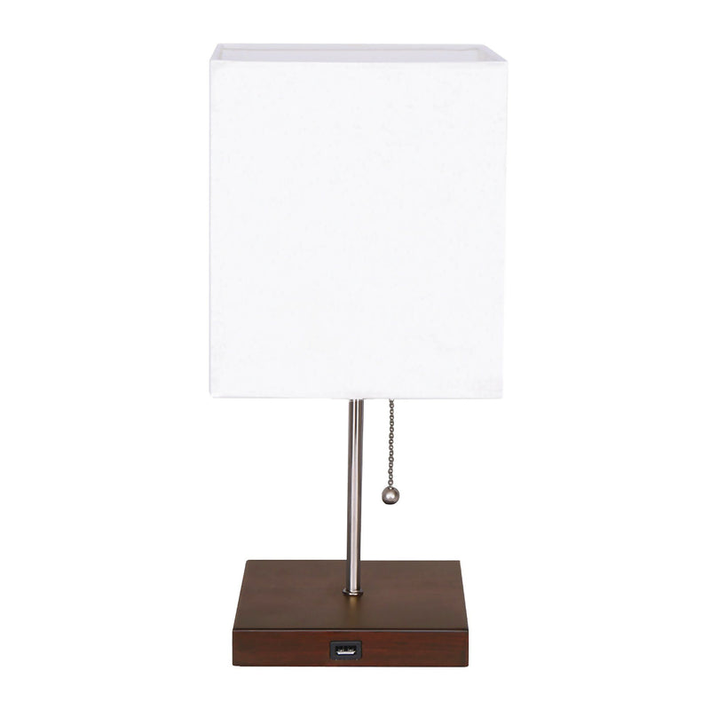 Table Lamp with Device Charger Base - Magasins Hart | Hart Stores