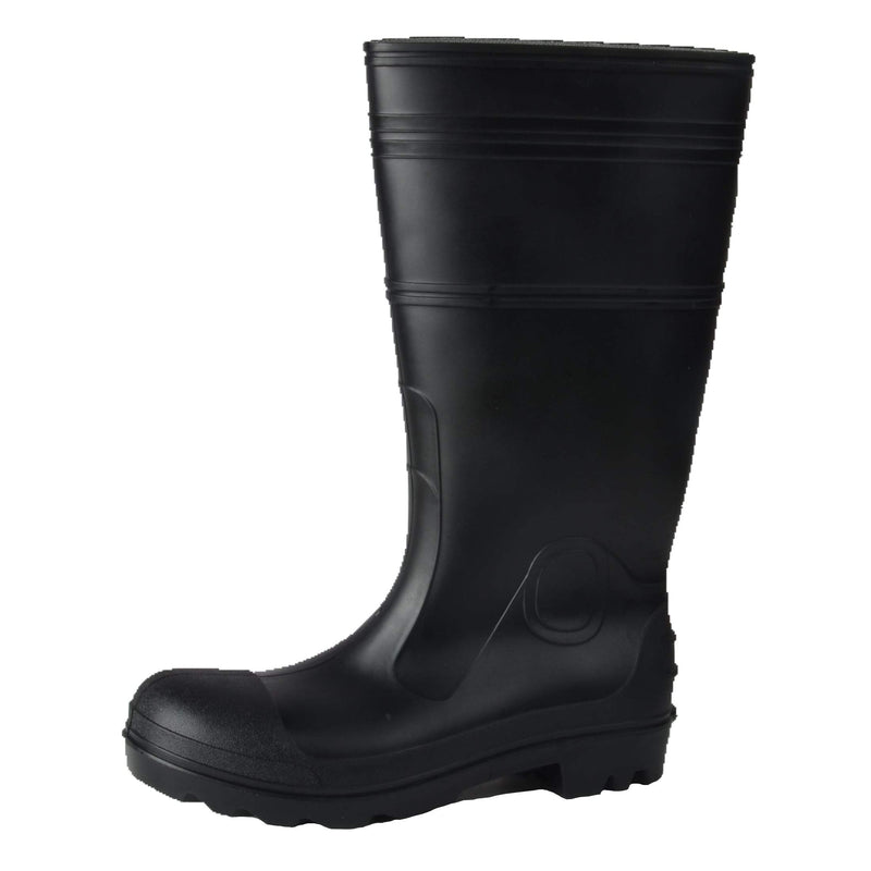 Tuff & Durable® - Rain Boots With Steel Toe & Plate | Black - Magasins Hart | Hart Stores