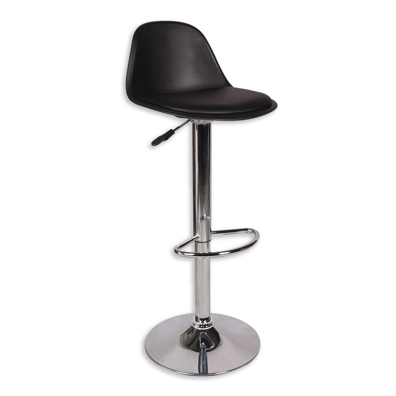 Smith Adjustable Barstool - PU Black - Magasins Hart | Hart Stores