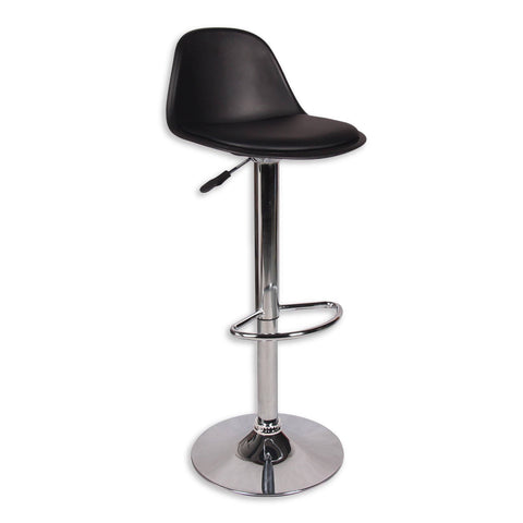 Smith Adjustable Barstool - PU Black