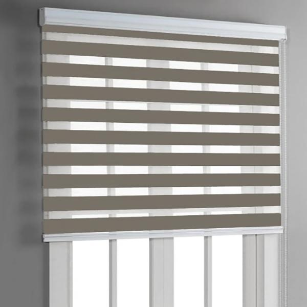 Day & Night Roller Blinds - Taupe - Magasins Hart | Hart Stores