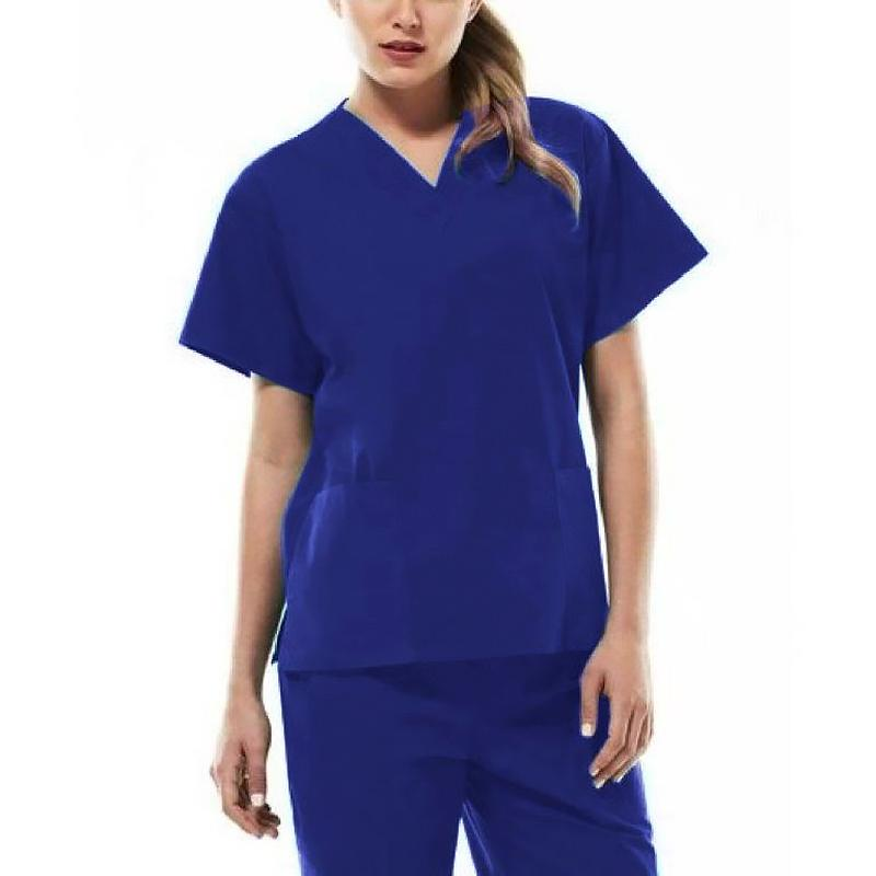 Royal Blue Scrub Top - Magasins Hart | Hart Stores