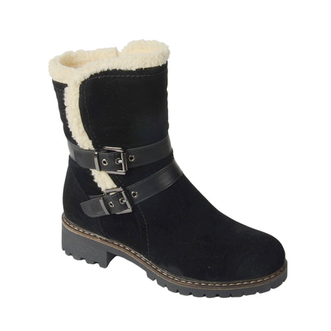 Faux Suede Boots for Women