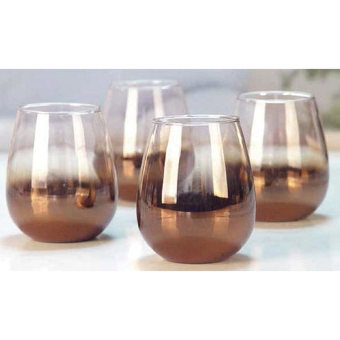 4 Decorative Whisky Glasses