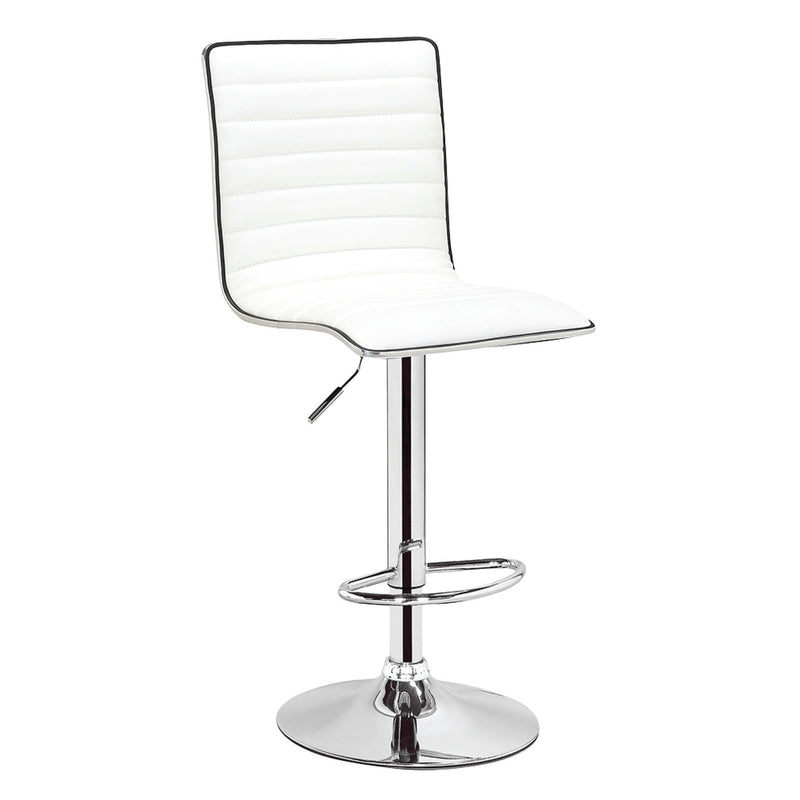 Adjustable Barstool - PU White - Magasins Hart | Hart Stores