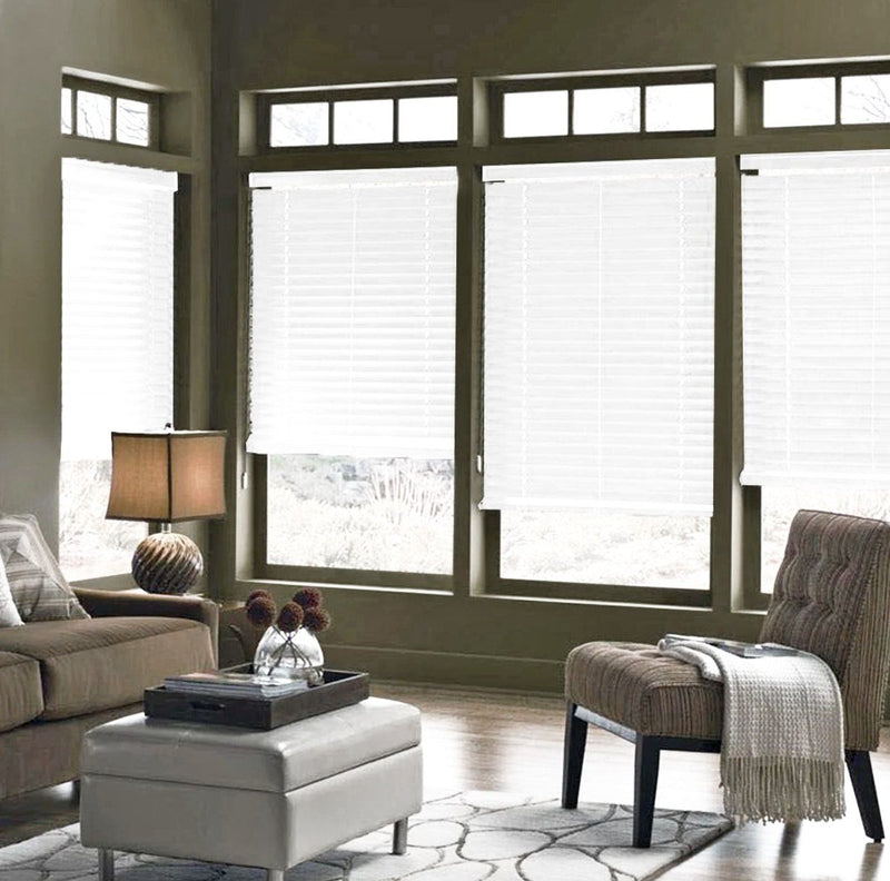 Faux Wood Blinds - White - Magasins Hart | Hart Stores