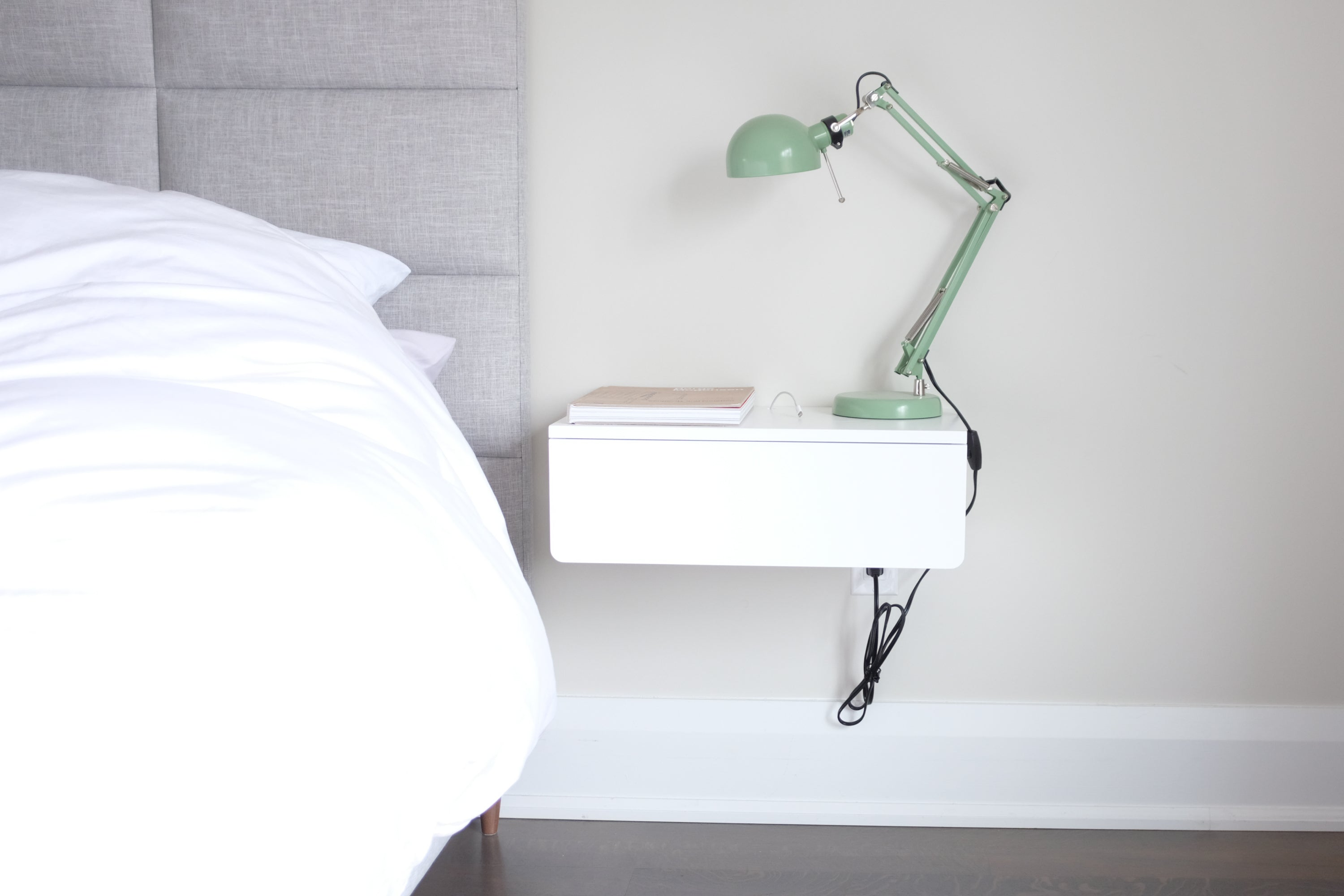 Floating Nightstand Modern