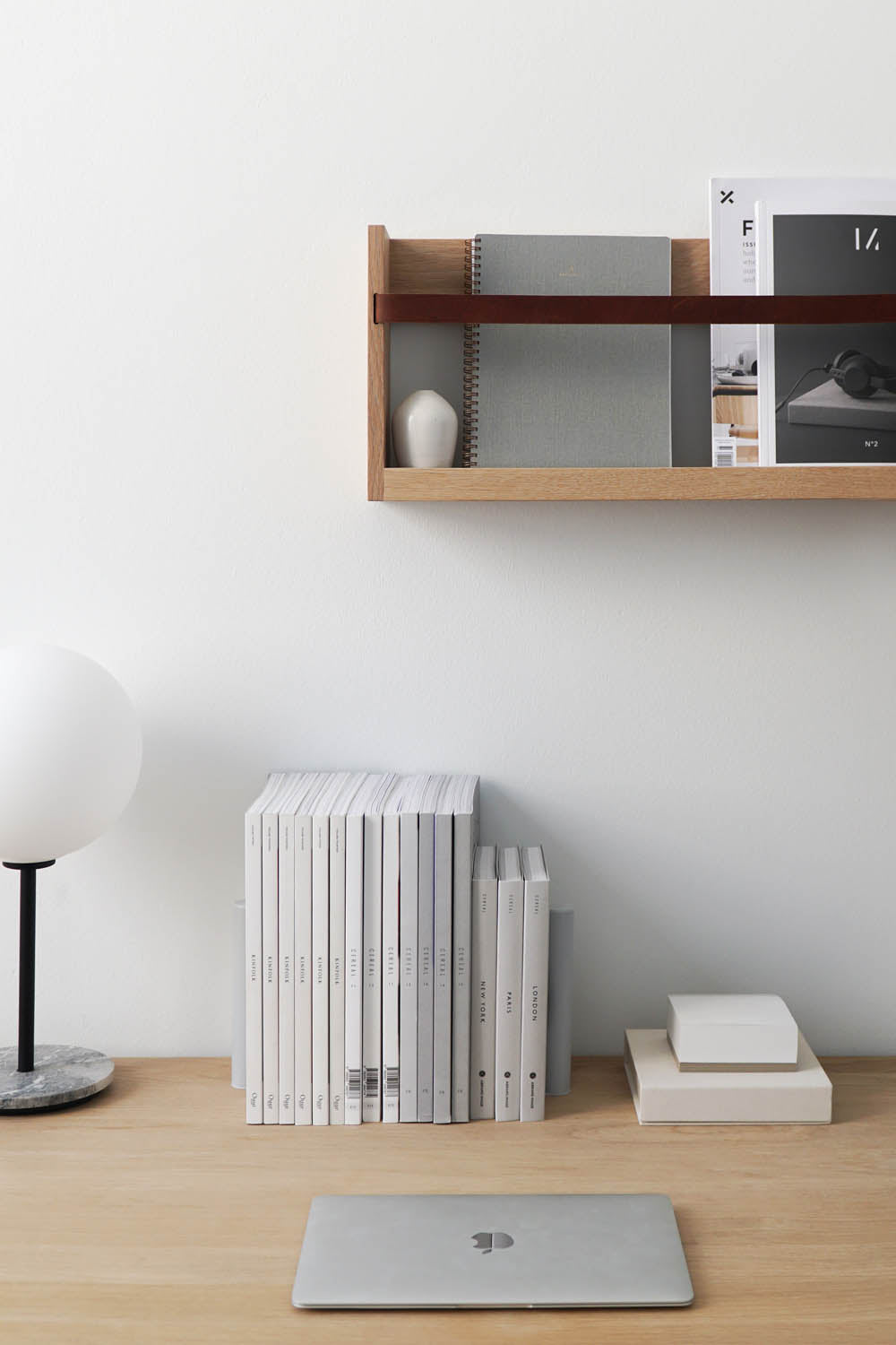 Wall Magazine Rack Modern