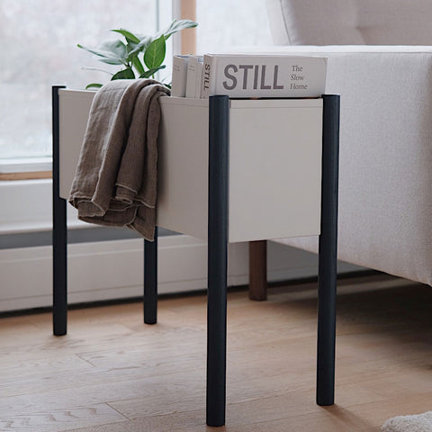 Plant Stand White