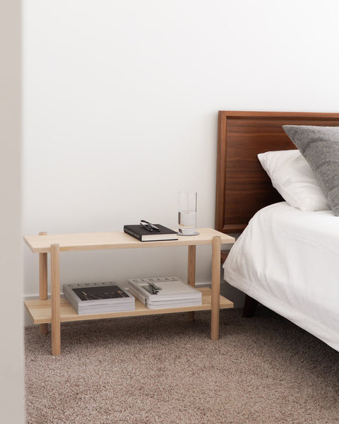 Modern Low Shelving Unit