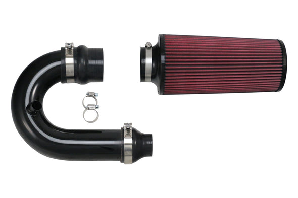 Deviant 45311 Intake Pipe with Filter Polaris RZR XP Turbo Full Kit Top View