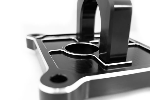 Deviant 45503 Billet Radius Arm Plate with D-Ring for 2014-16 Polaris RZR XP1000/XP Turbo