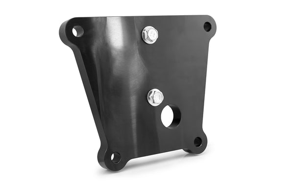Deviant 49500 Billet Radius Arm Plate with D-Ring for 2018+ Polaris RZR XP Turbo S