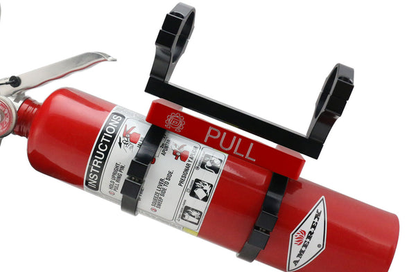 Deviant Quick Detach Mount with Fire Extinguisher | Select Bar Size