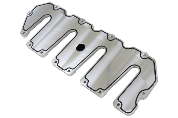 Deviant 72800 Duramax Valve Covers Raw Finish for 2004.5-10 GM 6.6L Duramax