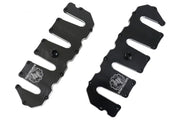 Deviant 72810 Duramax Valve Covers Black/Milled for 2004.5-10 GM 6.6L Duramax