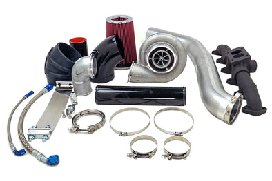 Deviant 84367 S467.7 2nd Gen Single turbo kit for 03-07 5.9L Cummins Pickups