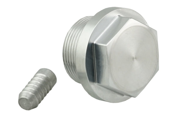 Deviant 71330 Coolant Thermostat Delete Plug for 01-10 GM 6.6L Duramax