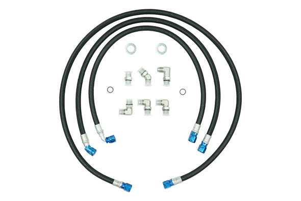 Deviant 73410 Transmission Cooler Repair Lines For 2006-2010 GM Duramax equipped Pickups