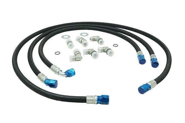 "Deviant 73420 5/8"" Transmission Cooler Repair Lines for 2006-10 GM Duramax 6.6L"