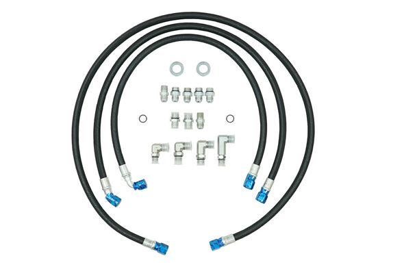 "Deviant 73421 5/8"" Transmission Cooler Repair Lines for 01-05 GM Duramax 6.6L"
