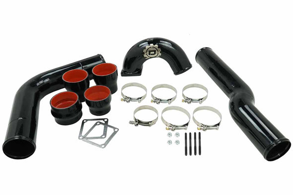 "Deviant 84320 3.5"" Intake Elbow and Intercooler Piping fits 2003-07 5.9L Cummins"