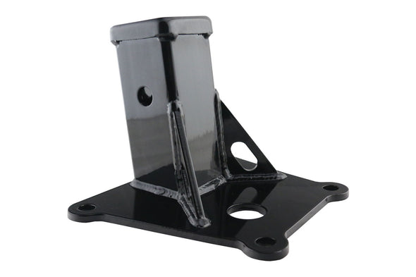 "Deviant 49501 Radius Arm Plate with 2"" Receiver for 2018+ Polaris RZR Turbo S"