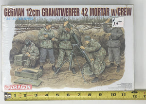Granatwerfer 4.2 mortar and crew