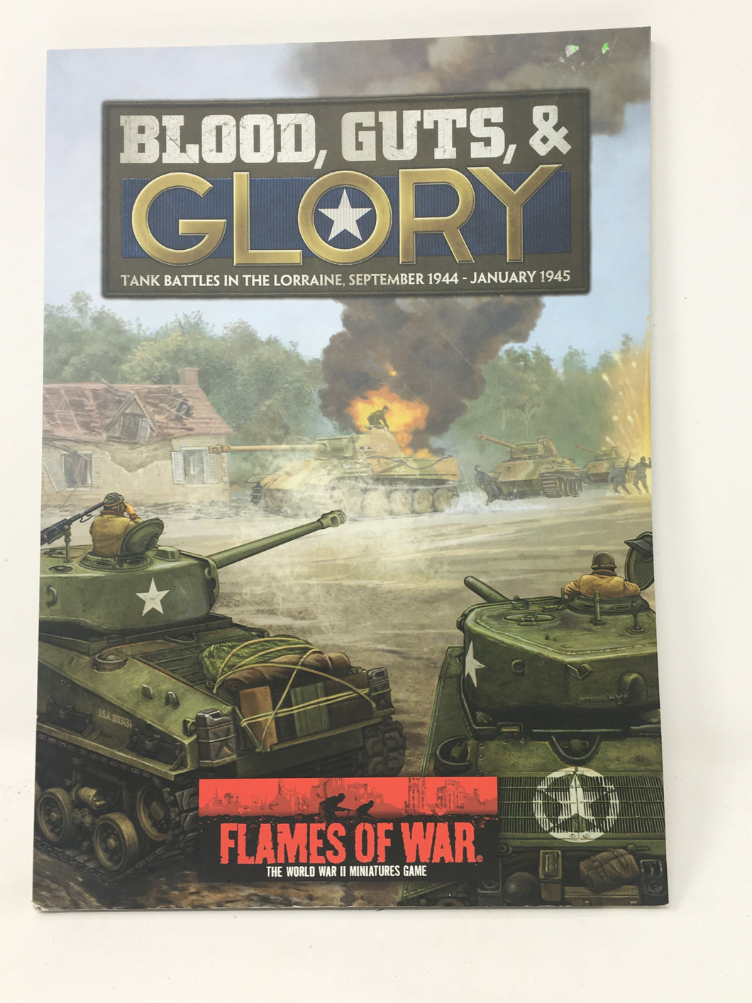 Flames of War - Blood, Guts, & Glory - Player's Handbook