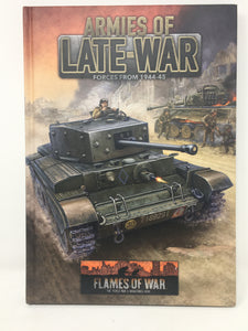 Flames of War - Armies of Late War - Player's Handbook