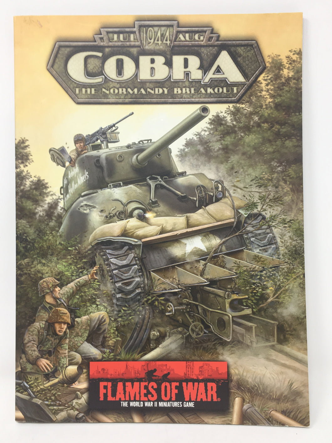 Flames of War - Cobra - Player's Handbook