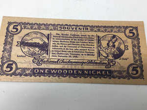 Chickamauga souvenir wooden nickel (5)