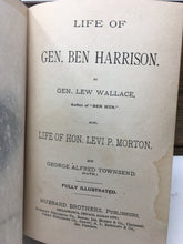 Lives of Harrison and Morton