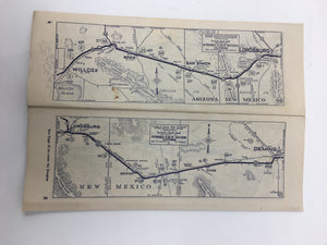Old Road Map
