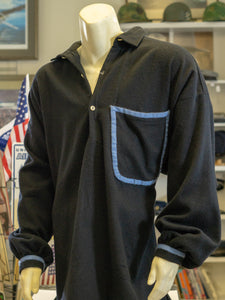 Reproduction Civil War Uniform Fancy Black Wool Shirt
