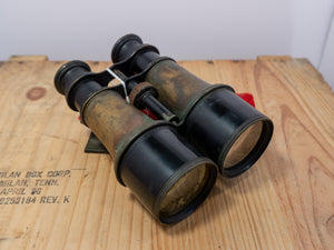 Post Civil War Brass Par Excellence Binoculars