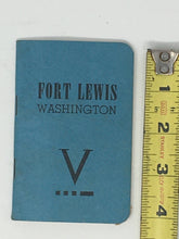 Ft Lewis Washington book