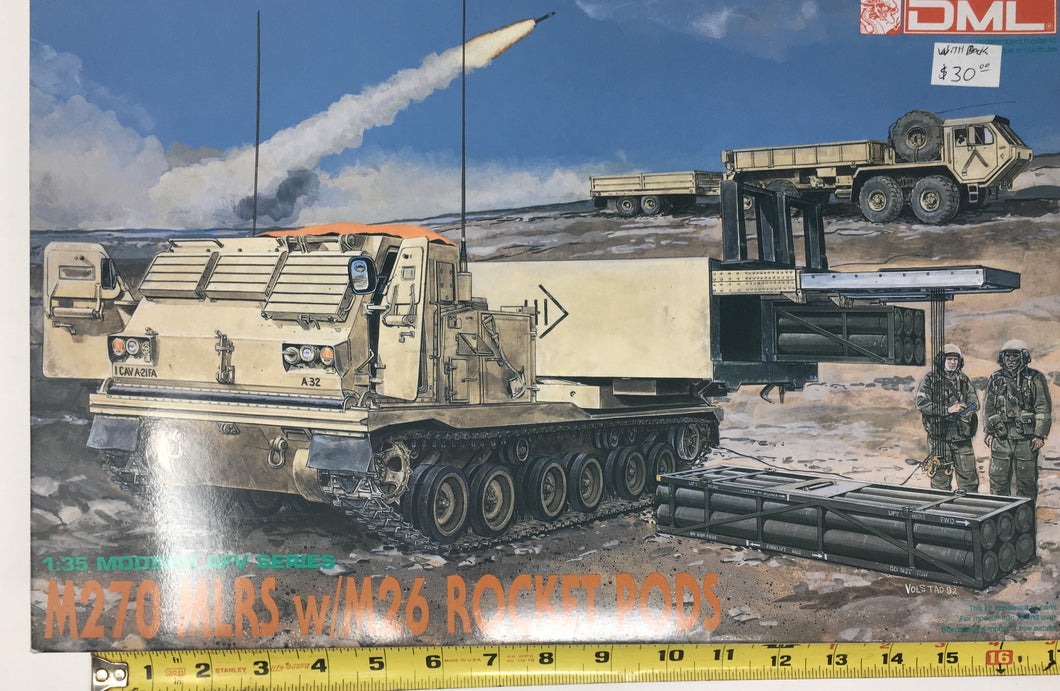 M270 MLRS/includes book on launcher