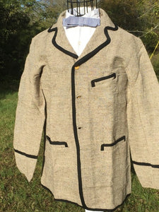 South Union Mills - 19th Century Civilian Sack Coat - trimmed