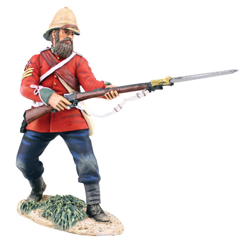 Britain British 24th Foot Sgt. Bourne No.2 Parrying with Bayonet