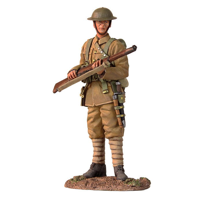 Britain Figures - WWI British Infantry Standing on Watch