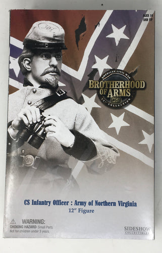 Brotherhood of Arms CS Army of Northern VA Infantry officer
