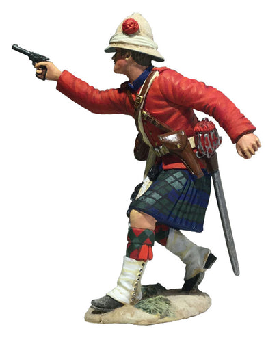 Britain Figure - 42nd Highland Company Officer Firing Pistol